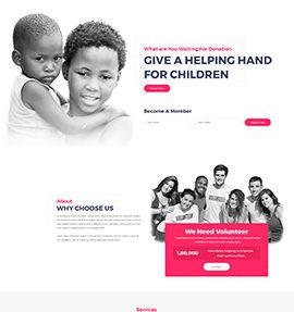 web designer_charity