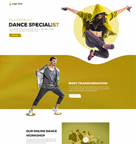 web designer_Dance studio