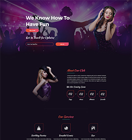 web designers_Night-Club