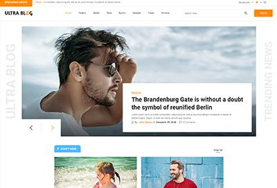 Web designer Ultra-Blog
