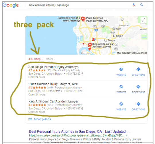 gmaps 3 pack